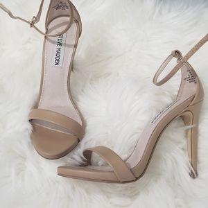 Nude Open toe stilettos